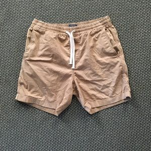 J Crew Dock Shorts Tan/Khaki Brown